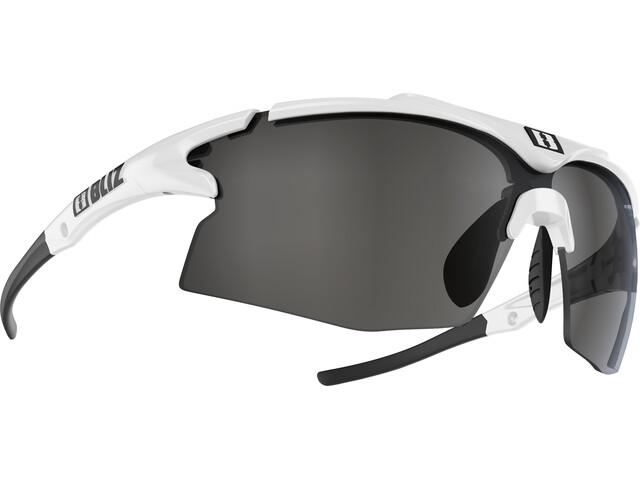 Bliz Tempo M12 Glasses white/smoke with silver mirror